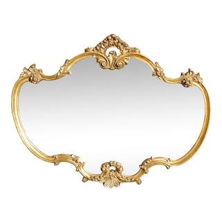 French Rococo Gold Mirror