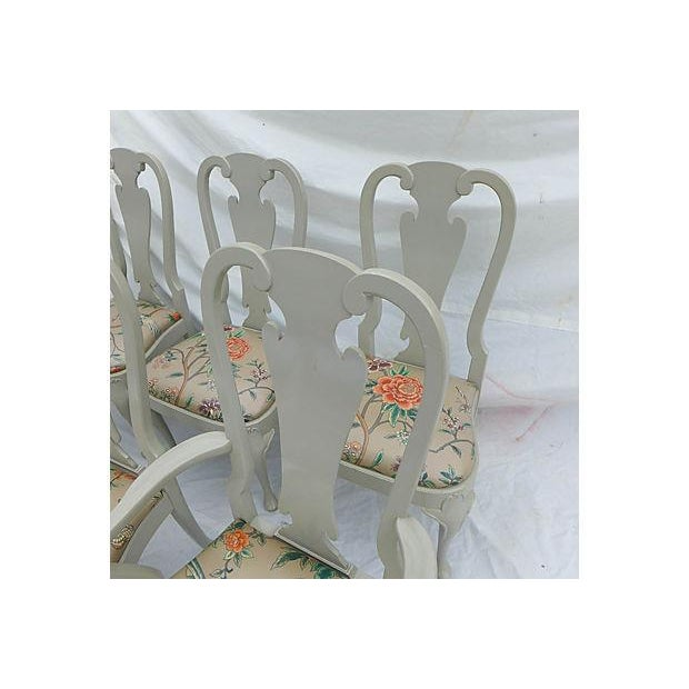 Coastal Living Henredon Dining Chairs - S/6 - Image 6 of 9