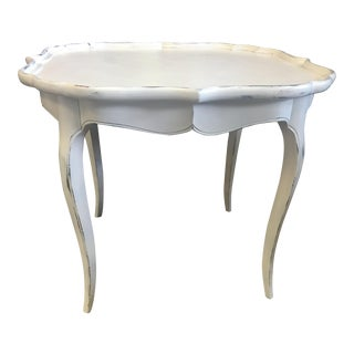 French White Coffee Table