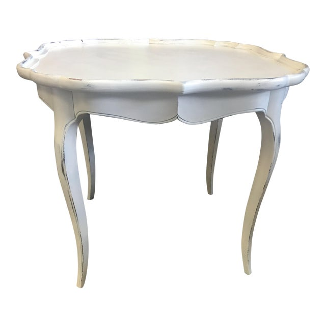 French White Coffee Table - Image 1 of 6