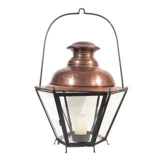 Fabulous Copper Table Top Lantern