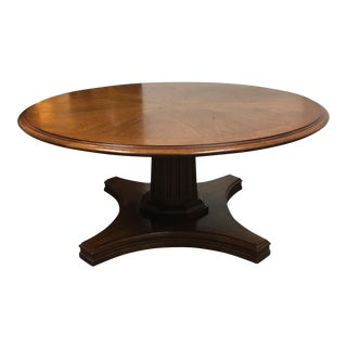 Round Adjustable Height Table From Coffee to Dining