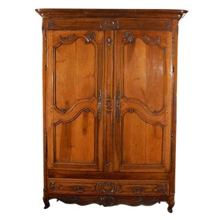 Massive Louis XV Armoire