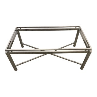Chrome Coffee Table Base