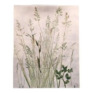 """Summer Grasses"" Salt Marsh Pottery Tray"