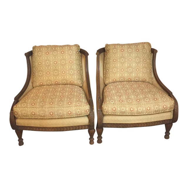 Pair of Century Occasional Chairs - Image 1 of 11