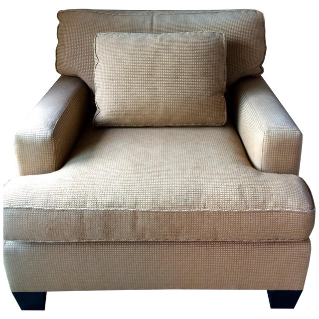 Barbara Barry Baker Lounge Chair & Ottoman - Image 1 of 8