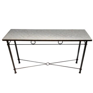 Outdoor Mosaic Console Table