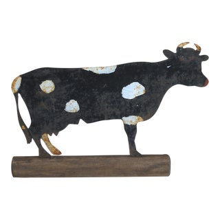 Painted Cow Sign (#12-68)