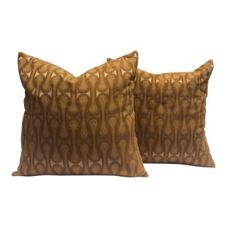 Mid-Century Pillow Covers - A Pair