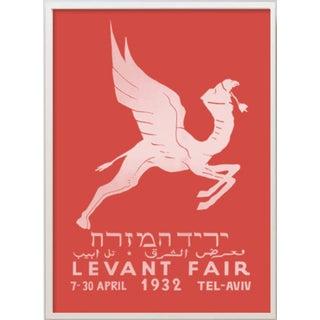 Levant Orient Fair Red Print