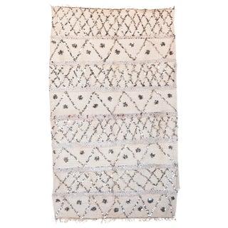 "Vintage Handira Wedding Blanket - 4'1"" x 6'8"""