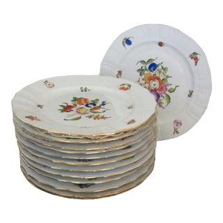 Herend Fruits & Flowers Buffet Plates - Set 13