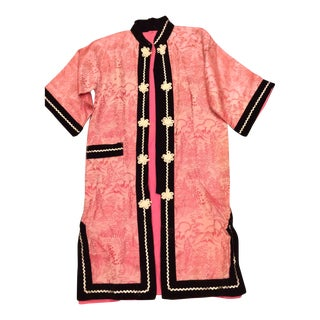 Chinoiserie Silky Lounge Robe