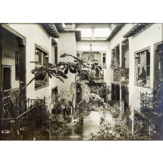 Tropical Interior Courtyard Photograph