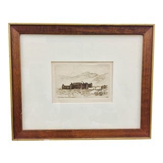 "Framed ""Holyrood Palace Edinburgh"" Print"