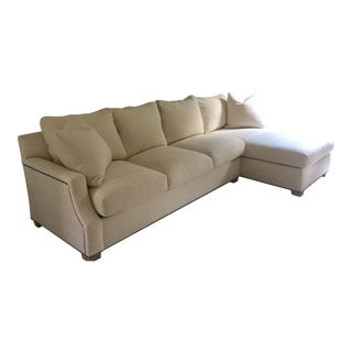 Custom Rene Cazares Down Sectional