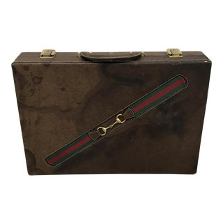 Vintage Gucci Game Set Briefcase