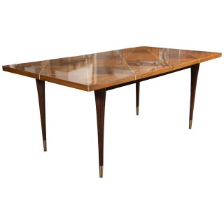 Mid Century Dining Table By Tommi Parzinger