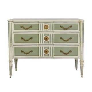Hickory White Ornate Dresser
