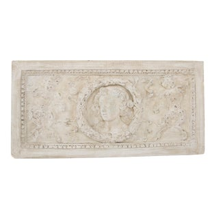 Neoclassical Plaster Wall Relief