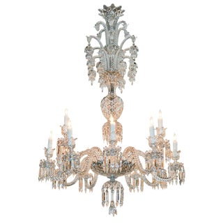 Fabulous Large Signed Baccarat Chandelier