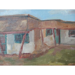 Ghost Ranch Cottage Painting
