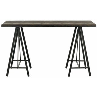 Industrial Fir Wood Console Table