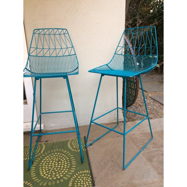 """""""Lucy"""" Bar Stools - A Pair - Image 3 of 5"""