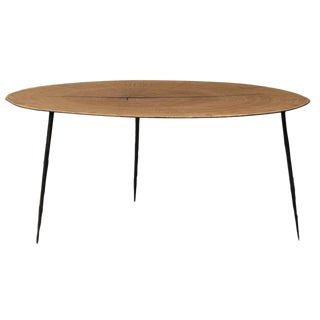 Wood Slice Round Coffee Table