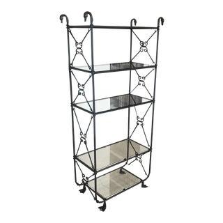 Unique Black Metal Duck Shelf