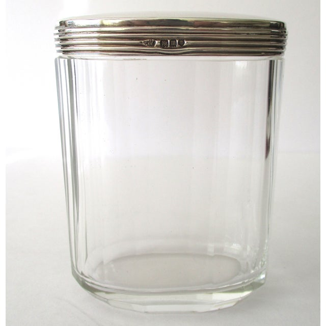 Asprey Glass Jar With Sterling Silver Top - Image 2 of 7