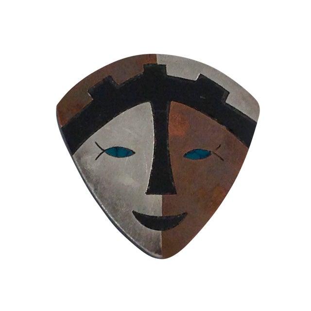 Image of Los Castillo Estella Popowski Sterling Pin