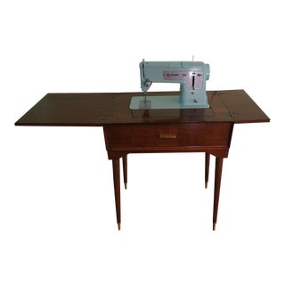Singer Mid Century Modern Sewing Machine