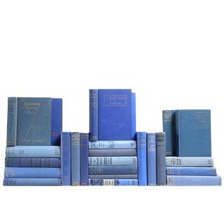 Antique & Vintage Sapphire Mixed Books - Set of 25