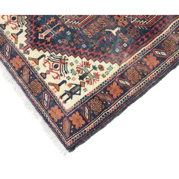 Hand Knotted Persian Baluch Rug - 3′3″ × 6′10″ - Image 6 of 9