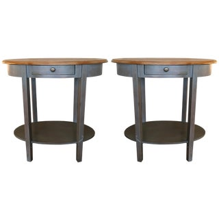 Safavieh Gray Side Tables - A Pair