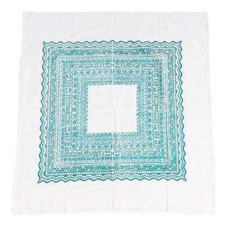 Vintage Harwood Steiger Linen Tablecloth