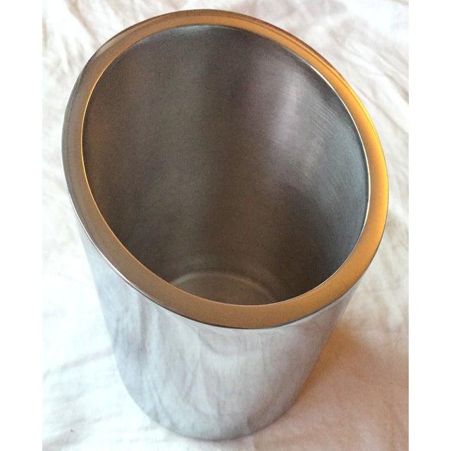 Silver Tilted Wine Chiller - Image 3 of 5