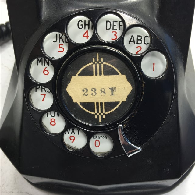 Shirley Temple Rotary Dial Telephone - Image 10 of 11