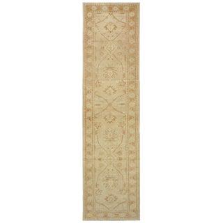 Turkish Wool Oushak Rug - 3′ × 13′