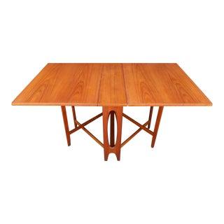 Norwegian Drop Leaf Dining Table