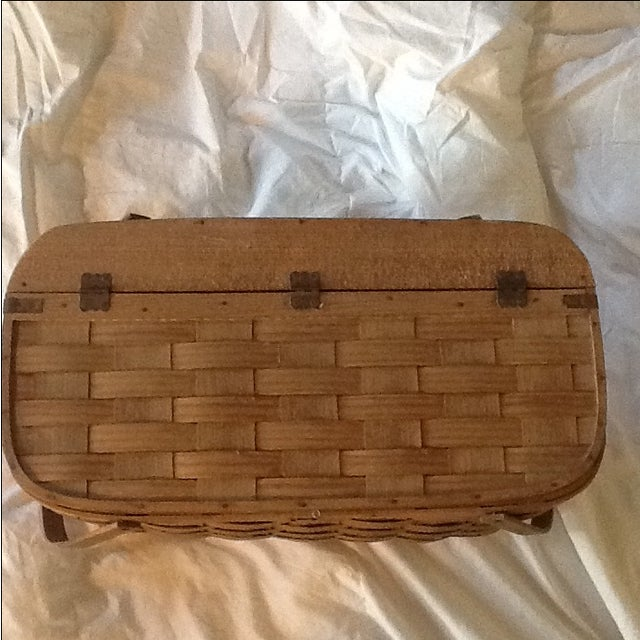 Image of Vintage Basketville Putney Picnic Basket