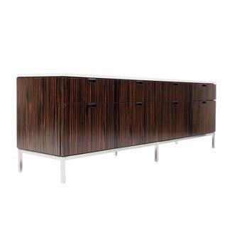 Florence Knoll Custom Ebony Veneer Wood Credenza