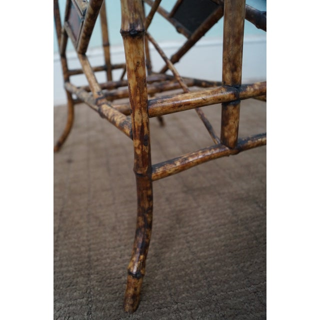 Antique Bamboo Magazine Stand - Image 8 of 8