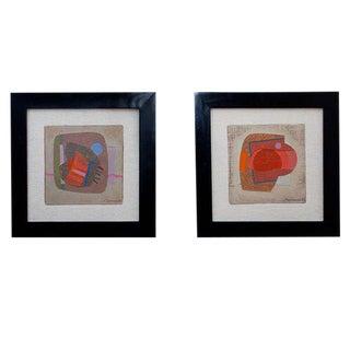 Pair of Paintings by Jose Luis Serrano