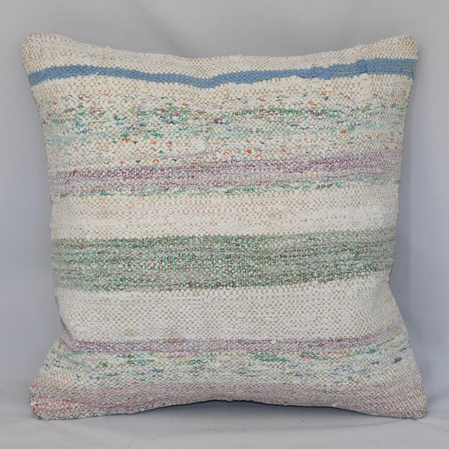 Turkish Handmade Kilim Pillow Cover - Image 2 of 6