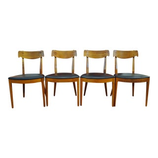 Kipp Stewart for Drexel Declaration Mid-Century Dining Chairs - Set of 4