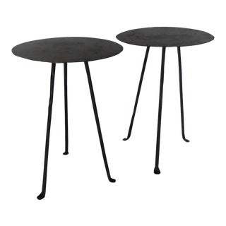 Round Tripod Side Tables