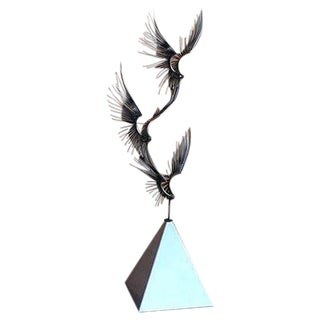 C. Jere 'Birds in Flight' Metal Sculpture